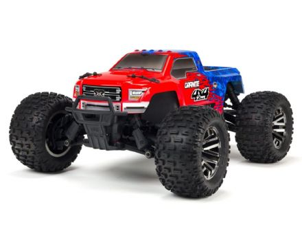 Arrma ARA102720T2 Granite 4x4 3s BLX - Red/ Blue 1/10th